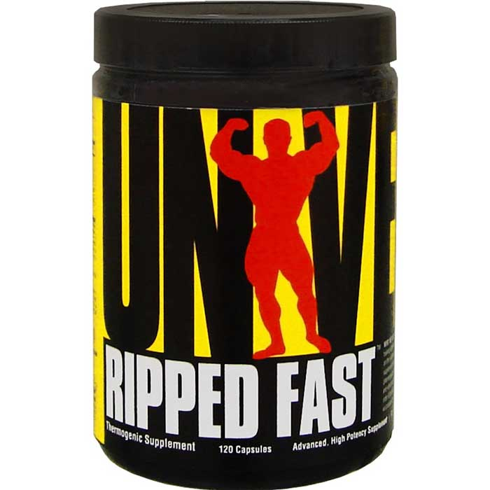 Ripped Fast - 120 Cápsulas - Universal Nutrition