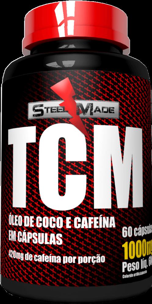TCM 1000mg - 60 cápsulas - Steel Made