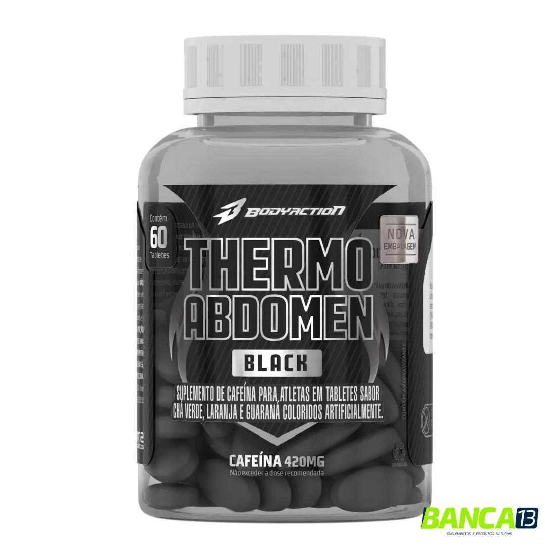 THERMO ABDOMEN BLACK 60 CAPS - BODYACTION