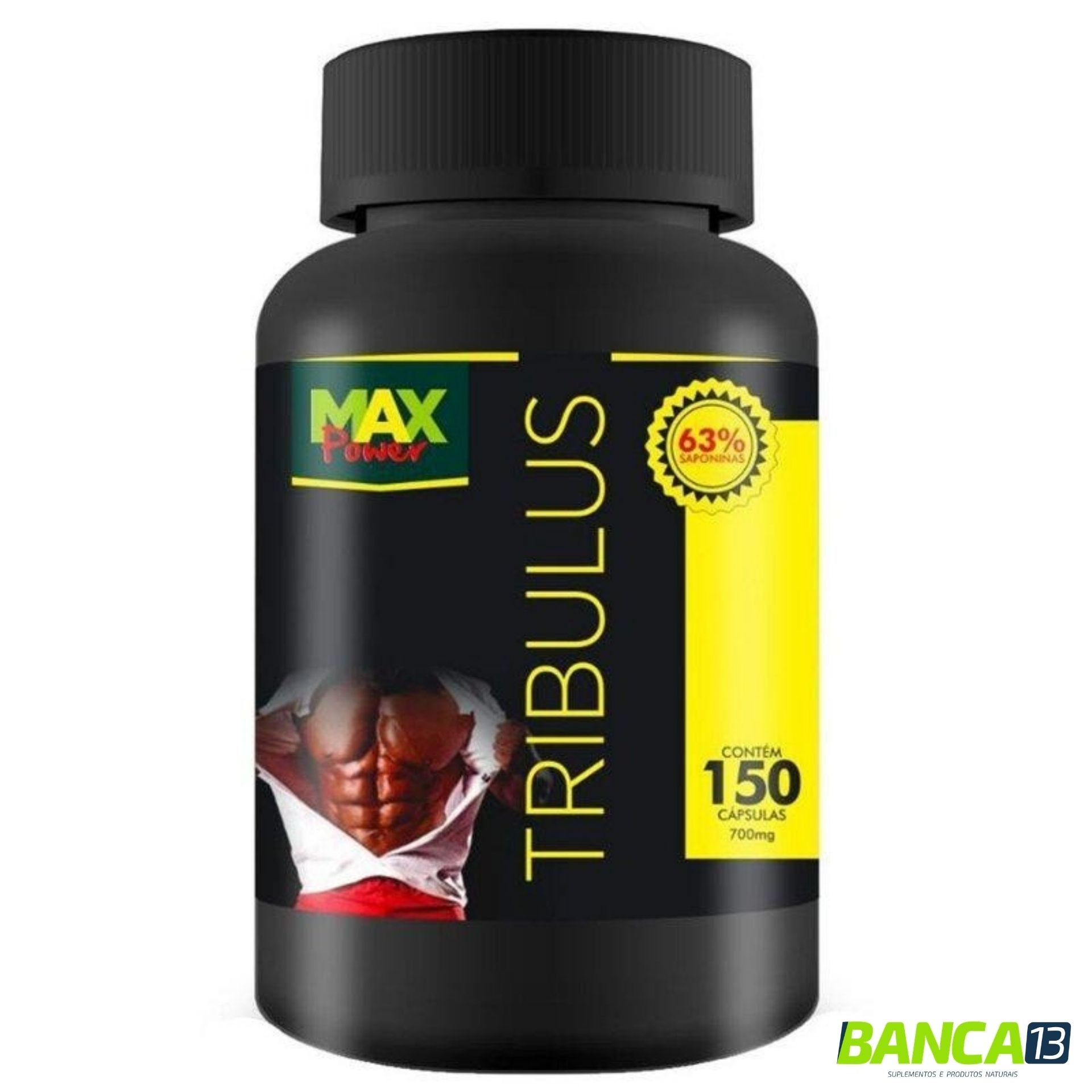 TRIBULLUS TERRESTRIS 150 cápsulas 700mg - MAX POWER