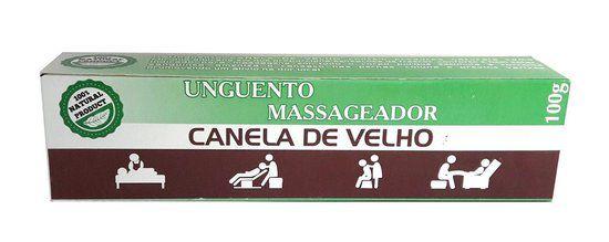 Unguento Massageador Canela de Velho - 100g
