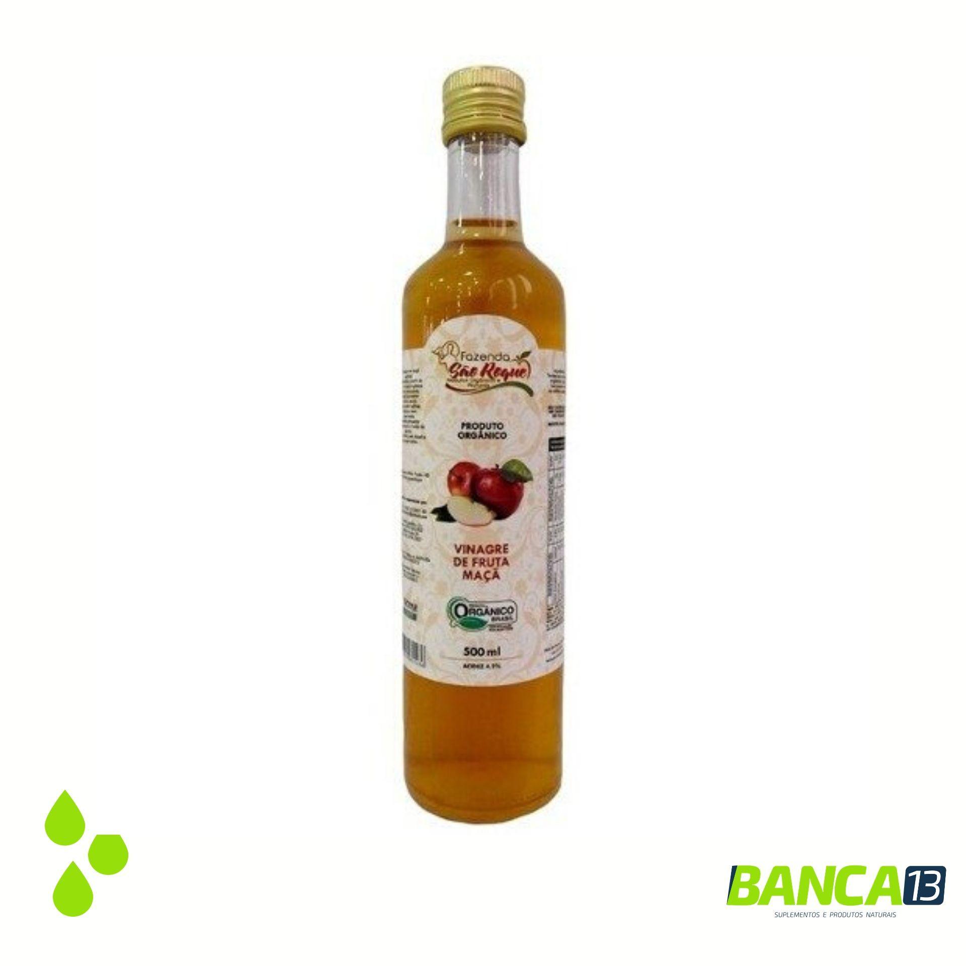 Vinagre de Maçã - 500ml - São Roque