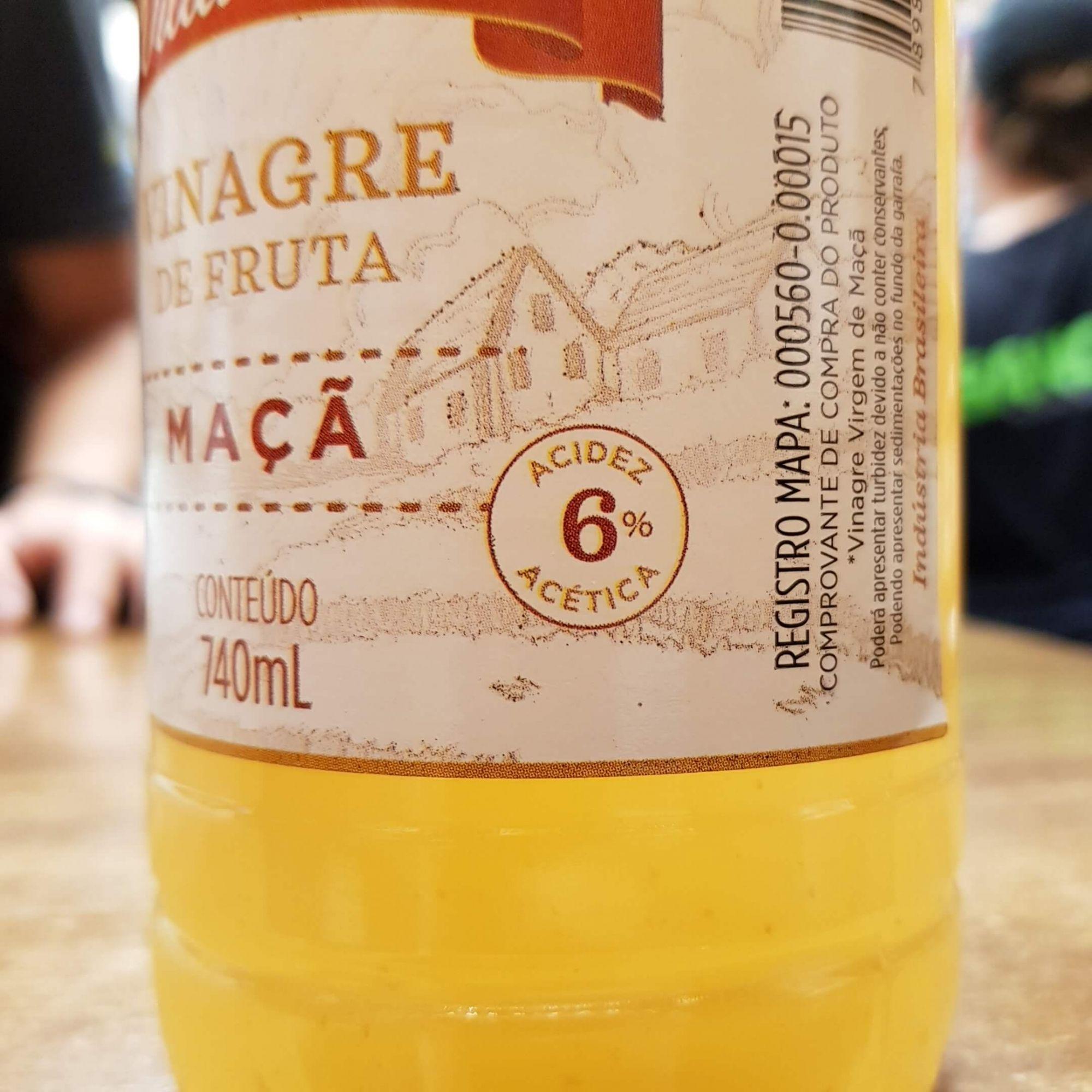 Vinagre de Maça 6% 740ml Villa Rica