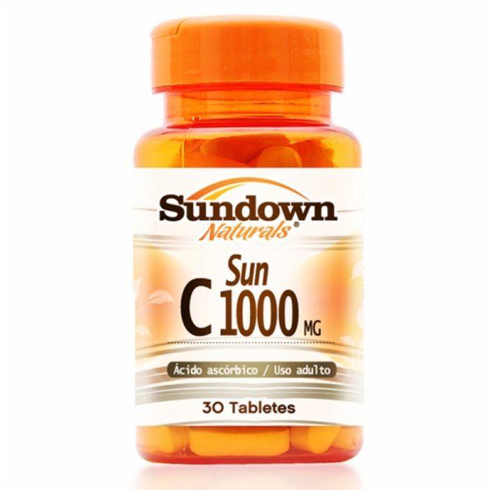 Vit c 1000mg - 30 comprimidos - Sundown
