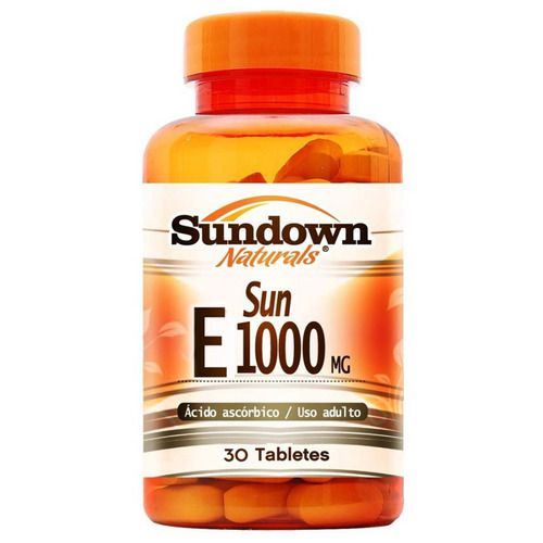 Vit E 1000 UI - 30 cápsulas - Sundown