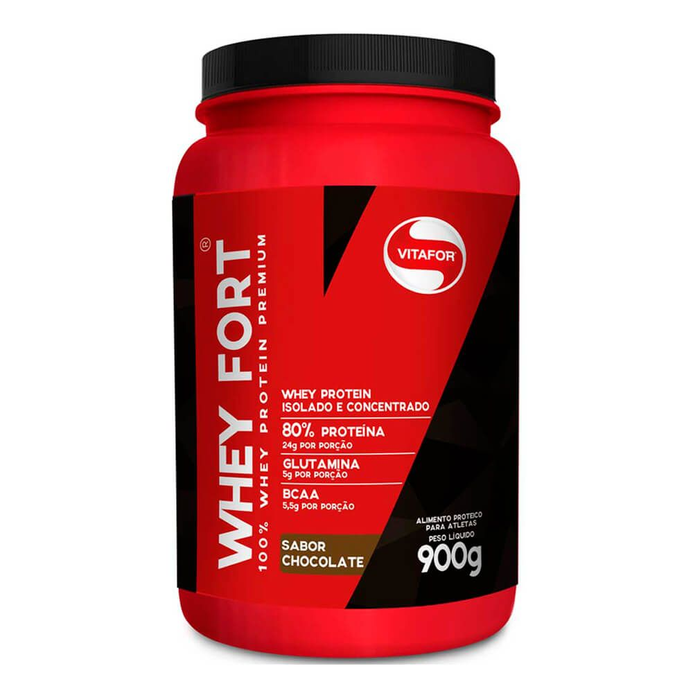 Whey Fort 900g - Vitafor