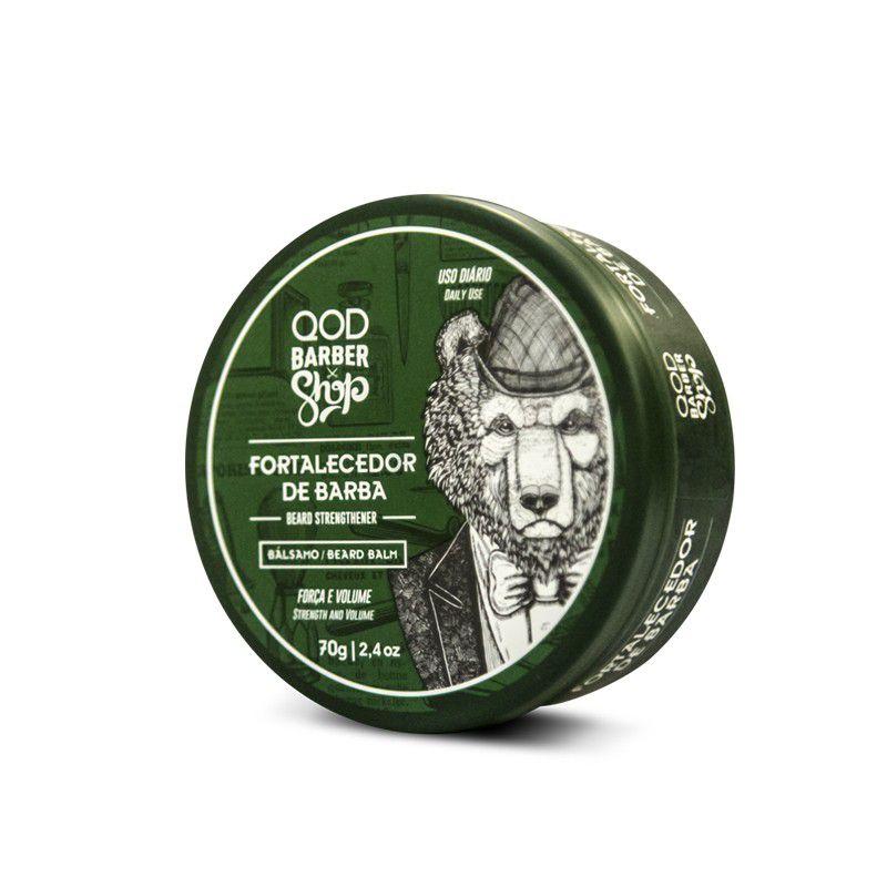Balm Fortalecedor de Barba QOD Barber Shop - 70g