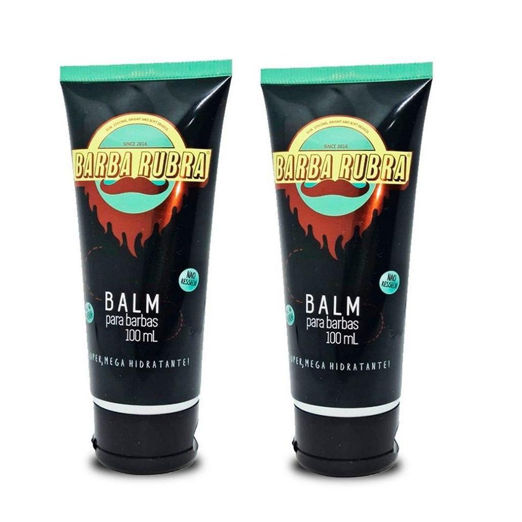 Balm para Barba Hidratante Barba Rubra - Kit 2 Unidades