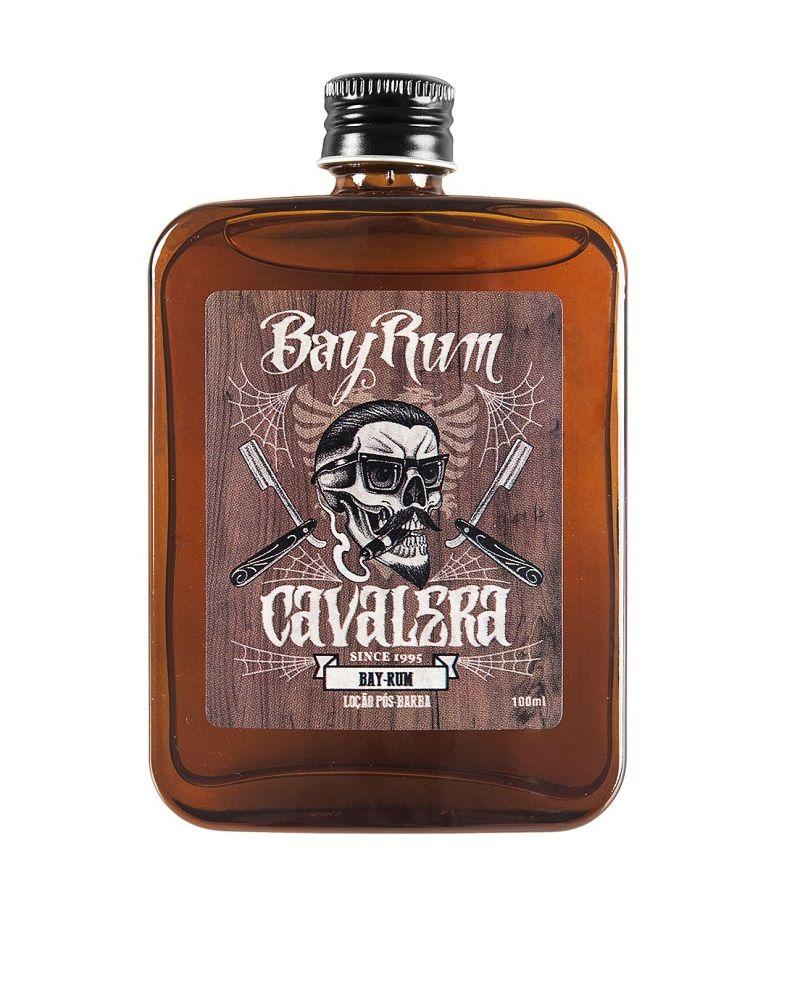 Loção Pós Barba Bay Rum Cavalera - 100mL