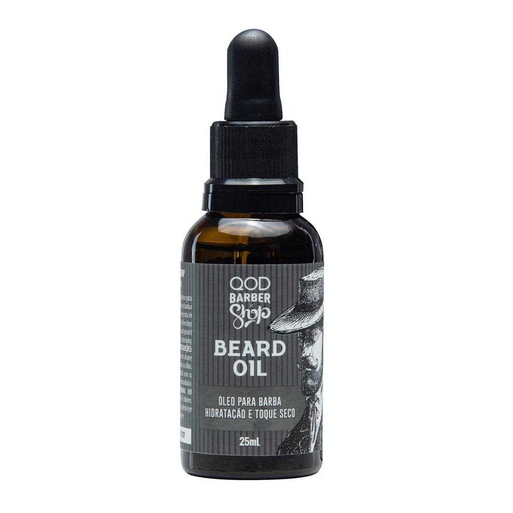 Óleo Hidratante para Barba Beard Oil QOD Barber 25mL