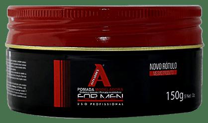 Pomada para Cabelo Efeito Molhado Alfa Look's Moderna - 150g