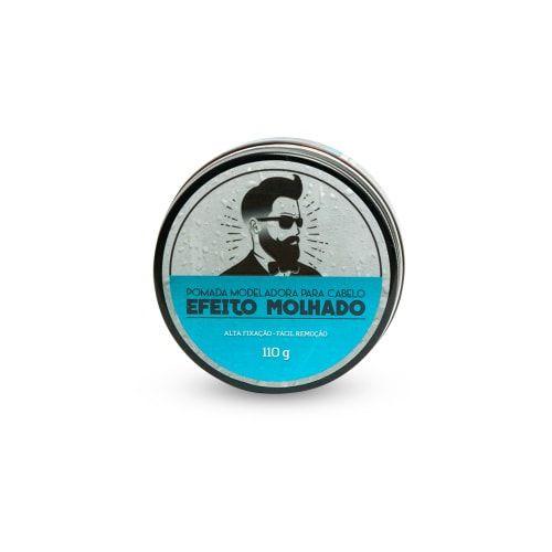 Pomada para Cabelo Efeito Molhado Barba de Respeito - 110g