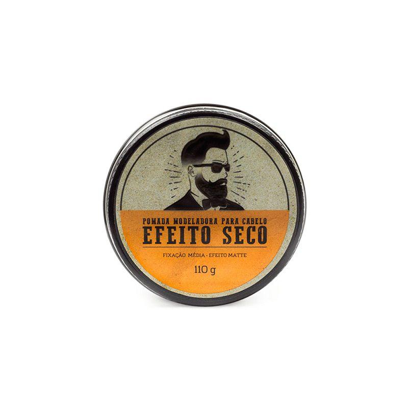 Pomada para Cabelo Efeito Seco Barba de Respeito - 110g