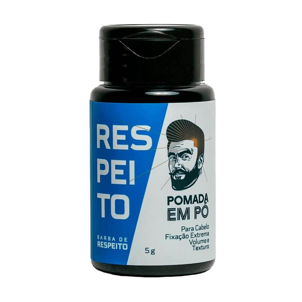 Pomada para Cabelo em Pó Efeito Matte Barba de Respeito 5g