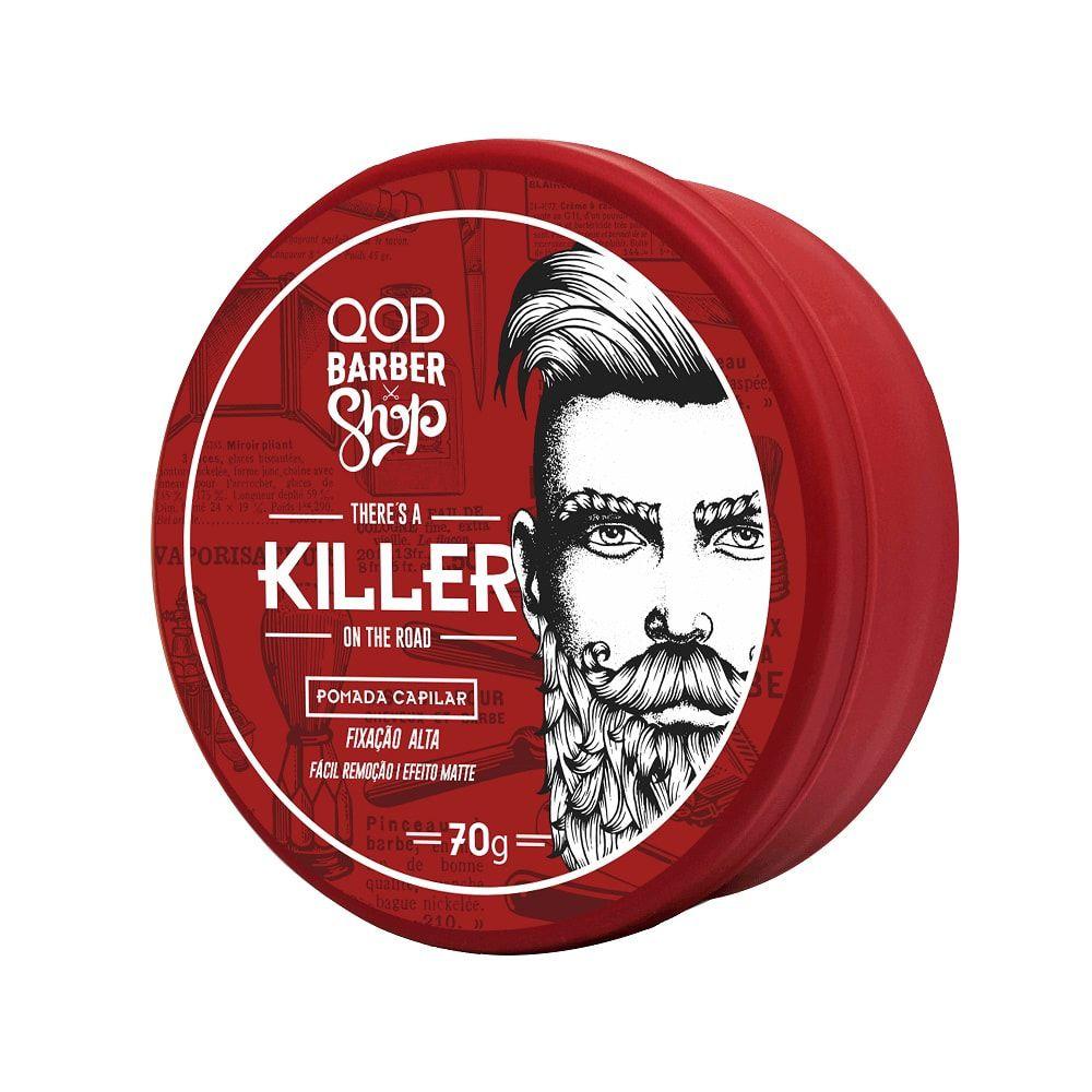 Pomada para Cabelo Killer QOD Barber Shop - 70g