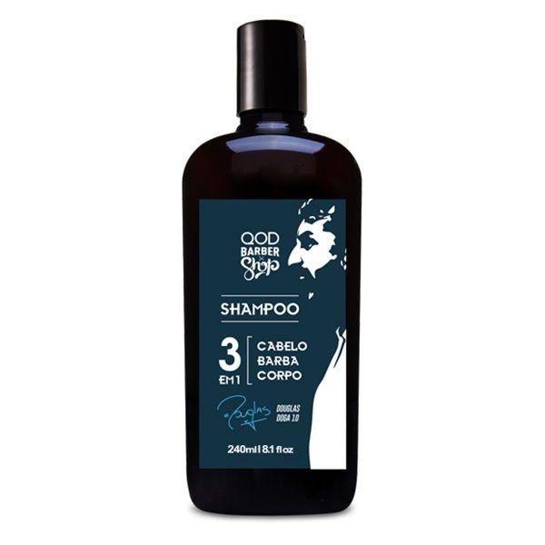 Shampoo 3 em 1 Especial DOGA10 - 240mL