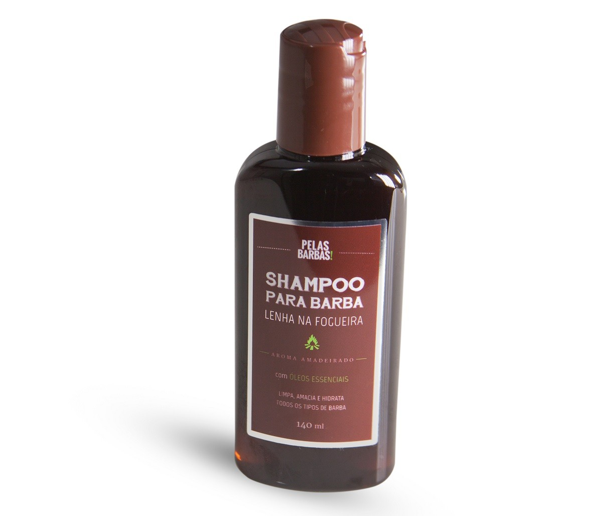 Shampoo de Barba Lenha na Fogueira - 140mL
