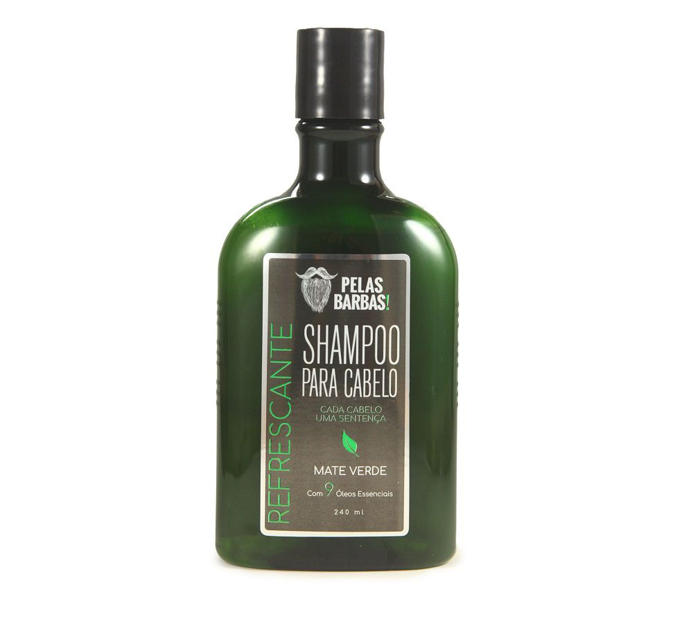 Shampoo para Cabelo Refrescante Mate Verde - 240mL