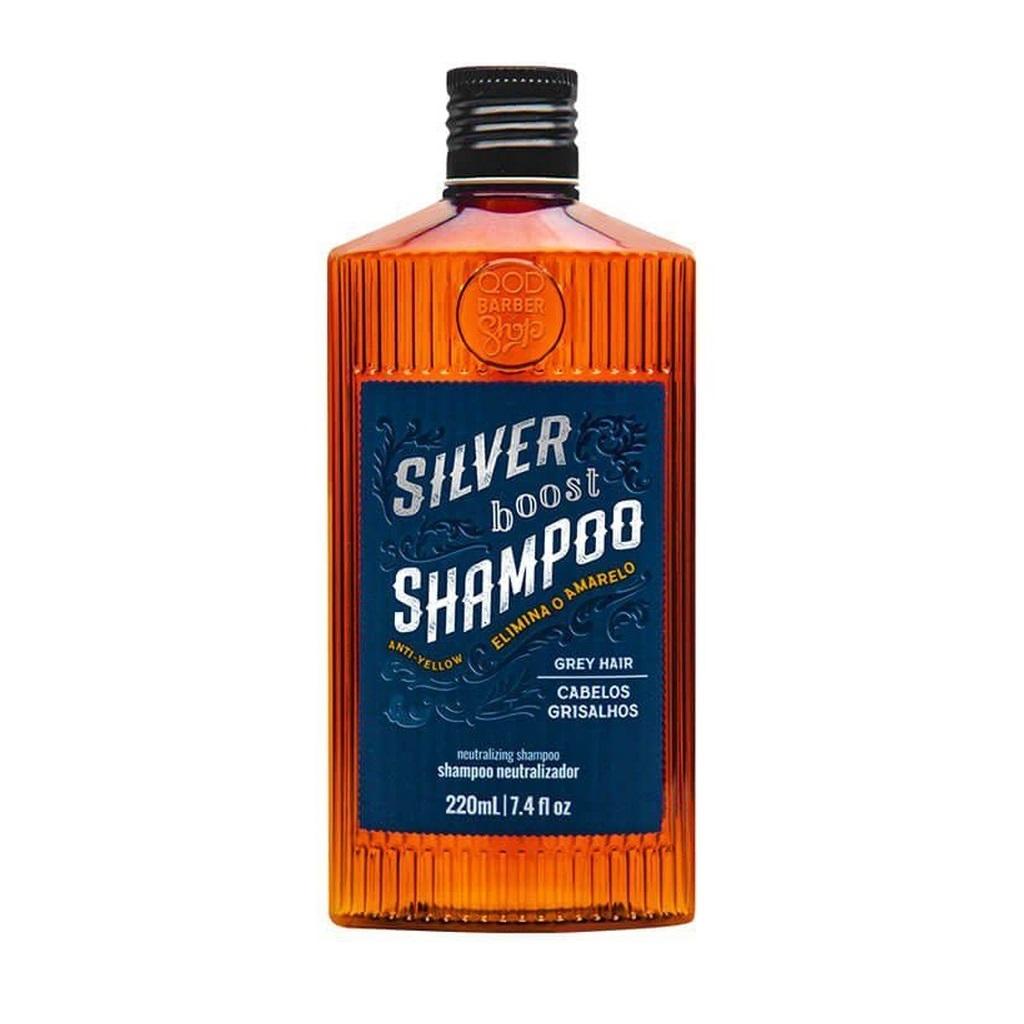 Shampoo para Cabelos Brancos Silver Boost QOD 220mL