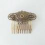 PEINECILLO metal flamenco peineta dourada vintage 7,5x6,5cm