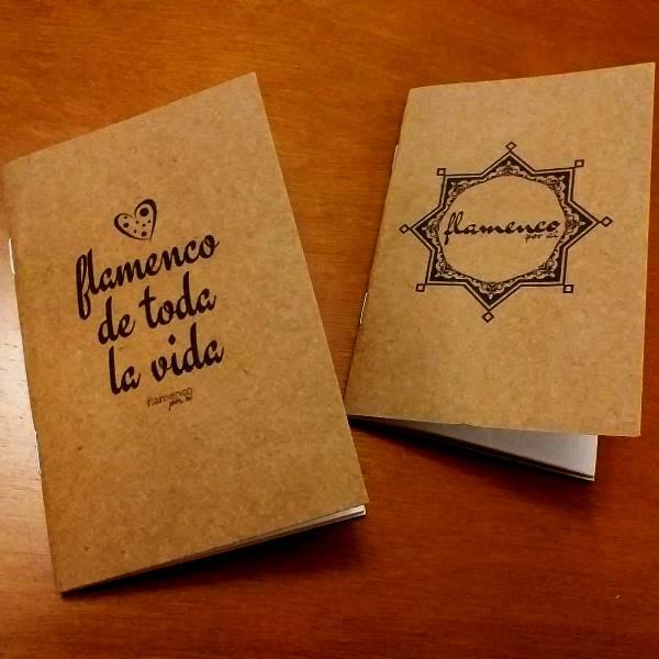 CADERNINHO de bolso flamenco A6