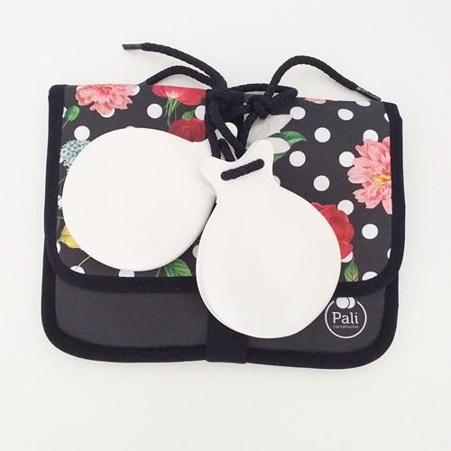 CASTANHOLAS espanholas caixa dupla fibra branca flamenco Pali