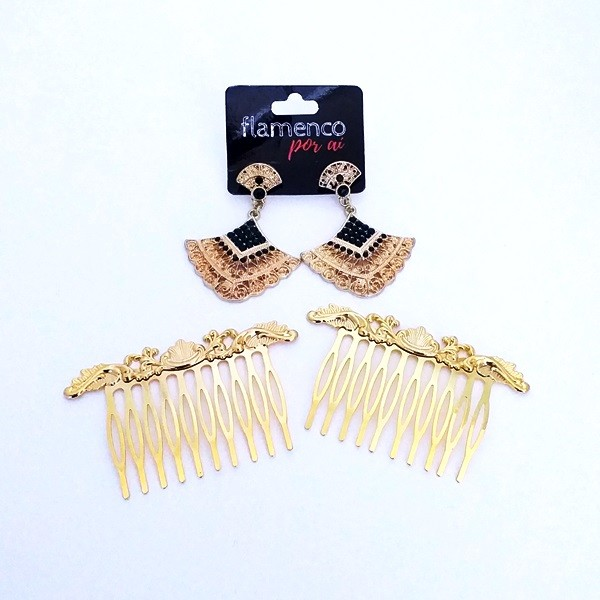 KIT FLAMENCO - 028 dourado