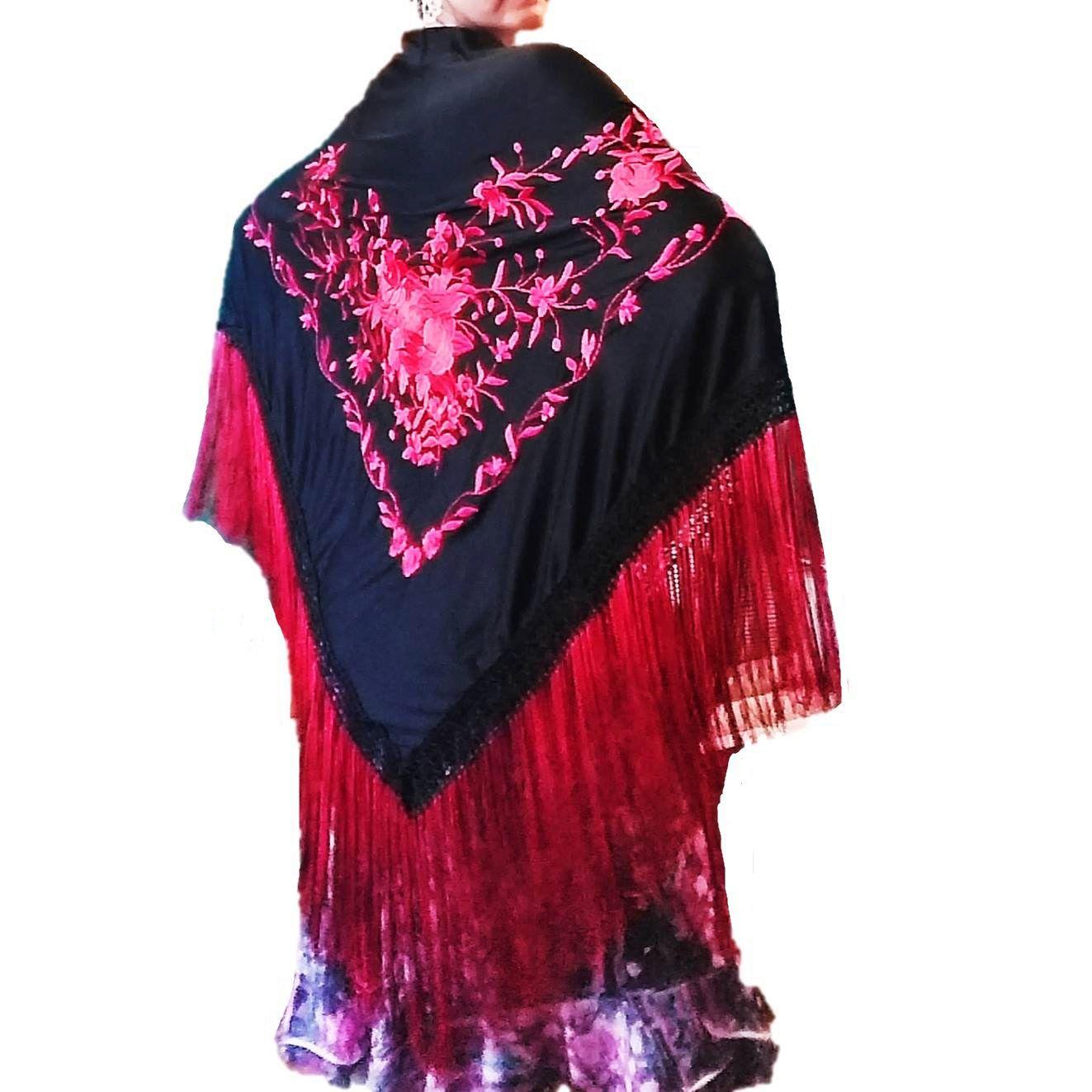 XALE ESPANHOL grande 180x85cm flamenco