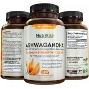 Ashwagandha - Nutririse - 1300mg (120 Cápsulas)