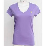 Camiseta Feminina Roxa - Polo Ralph Lauren - Tamanho: G