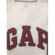 Camiseta GAP Gola Redonda - Branca