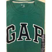 Camiseta GAP Gola Redonda - Verde