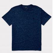 Camiseta Polo Ralph Lauren Gola Redonda - Azul Eclipse