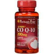 Coq10 - Puritan's Pride - 200mg (60 Cápsulas)