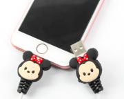 Divertido Protetor Cabo Usb  - Minnie Mouse