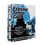 H2Ocean Kit Extreme Tattoo Care (Cuidado extremo da tatuagem)