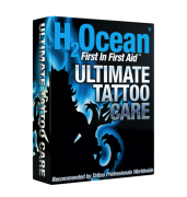 H2ocean Kit Ultimate Tattoo Care (Cuidado final da tatuagem)
