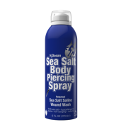 H2ocean Sea Salt Body Piercing Spray (Esterelizante De Piercing) - 6 fl Oz(177ml)