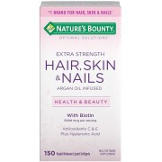 Hair, Skin E Nails - Nature's Bounty - 5000mcg (150 Cápsulas)