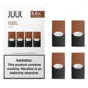 Juul - Classic Tobacco I Refil - 4 unidades