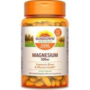Magnésio 500mg - Sundown (180 Cápsulas)