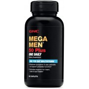 Mega Men Multivitamínico 50 Plus One Daily - GNC (60 Cáp)