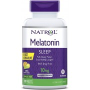 Melatonina Natrol - Fast Dissolve - Sabor Citrus 10mg (100 Tabletes)
