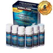 MINOXIDIL 5% KIRKLAND Kit para 6 meses de tratamento -  6 FRASCOS DE 60 ml
