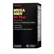 Multivitamínico Gnc Mega Men 50 Plus 120 Cap
