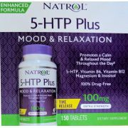NATROL 5HTP PLUS 100mg (150 tabletes)