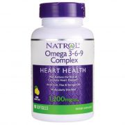 Natrol Omega 3-6-9 Complex Lemon - 1200 mg (90 Caps.)