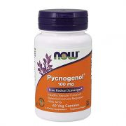 NOW Pycnogenol 100mg, 60 Veg Capsulas