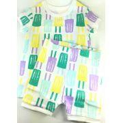 Pijama Baby GAP - Estampa Picolé