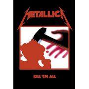 Pôster De Tecido LPGI 30' x 40' - Metallica